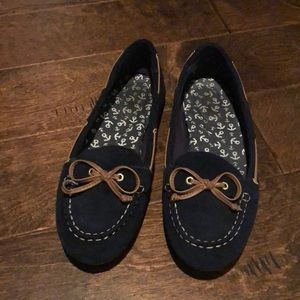 Sperry top sider navy blue women's shoes. Size 8.5
